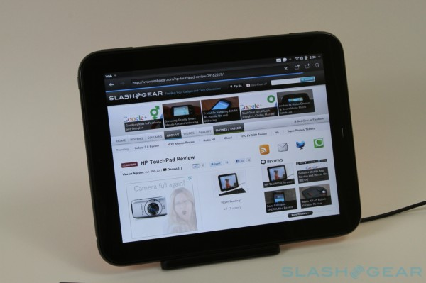 Обзор HP TouchPad @ Slashdot.com #2