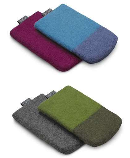 Palm Pixi Wool Pouch