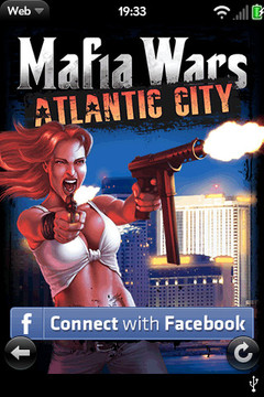 Mafia Wars Atlantic City webOS