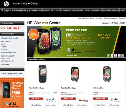 HP Wireless Central
