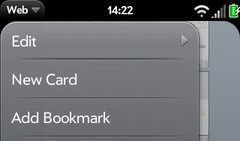Internet bookmarks webOS #2