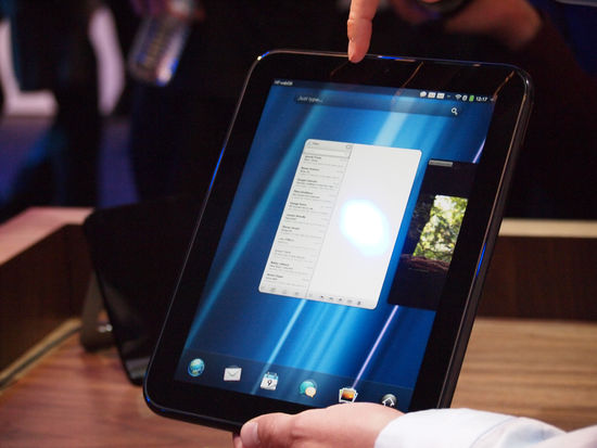 HP TouchPad Preorder