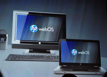 webOS on PC Notebook