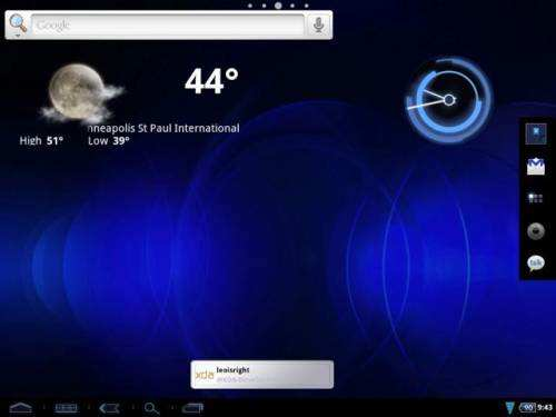 Team Xron выпустила custom Android ROM для HP TouchPad