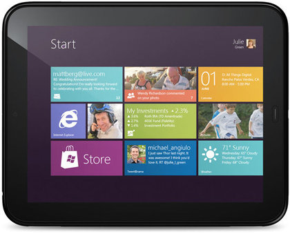 HP TouchPad с Windows8