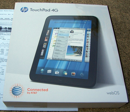 HP TouchPad 4G AT&T